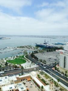 Beautiful view of San Diego